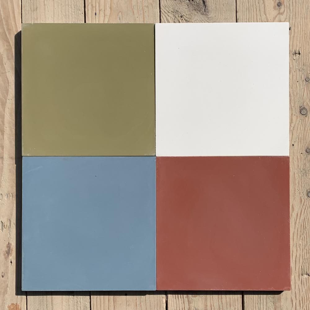 Cement tiles Plain