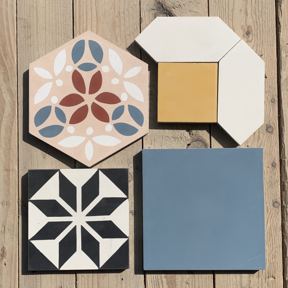 Cement tiles other sizes
