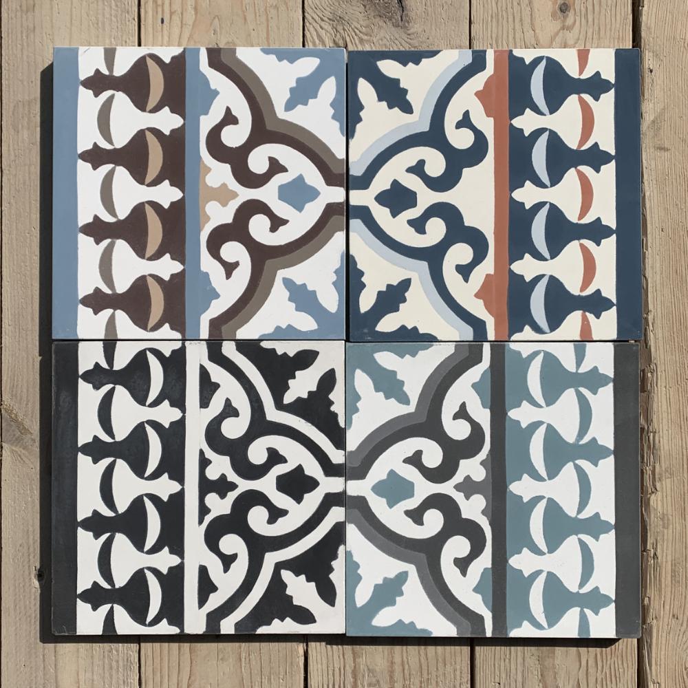 Cement tiles Borders
