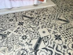 Encaustic cement tiles Patchwork