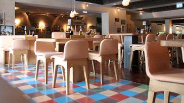 cement tiles patchwork | plain tiles