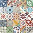 articima cement tiles multicolor